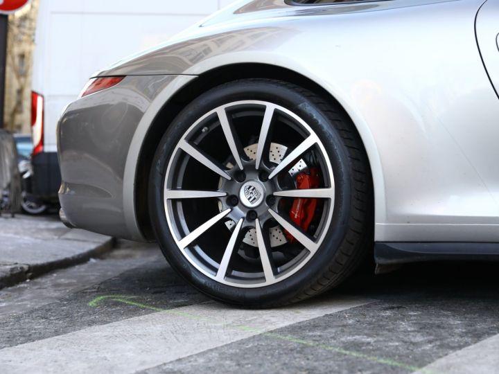 Porsche 911 PORSCHE 991 CARRERA 4S PDK PSE TOE SUPERBE Gris Argent - 10