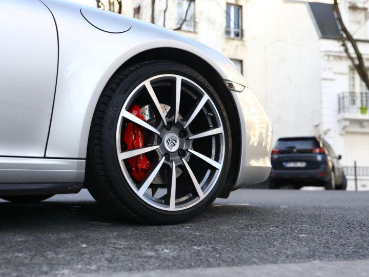 Porsche 911 PORSCHE 991 CARRERA 4S PDK PSE TOE SUPERBE Gris Argent - 11