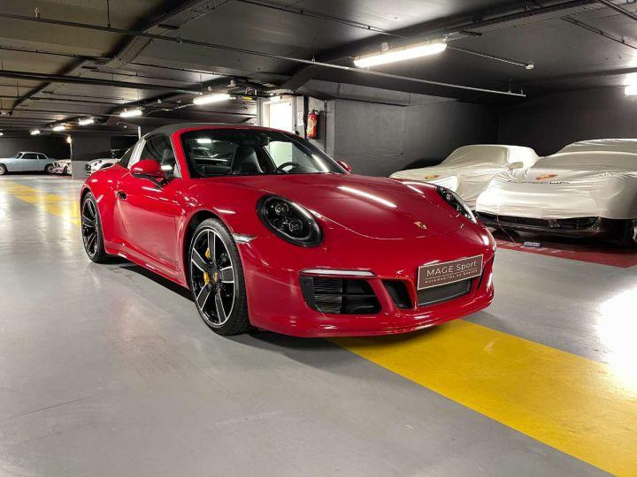 Porsche 911 Targa 4S 3.0i 420 PDK Rouge Occasion - 2