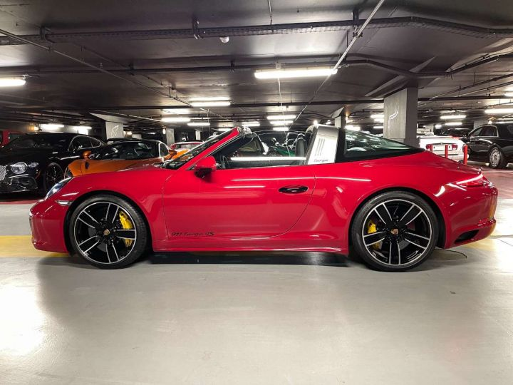 Porsche 911 Targa 4S 3.0i 420 PDK Rouge Occasion - 3