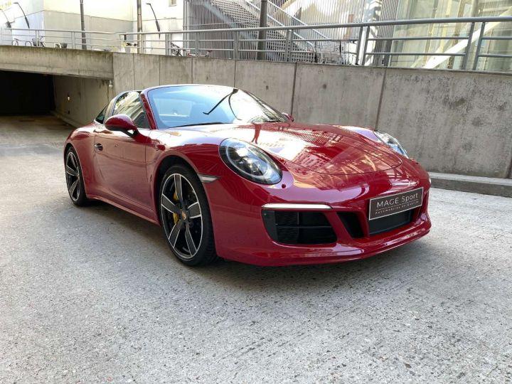 Porsche 911 Targa 4S 3.0i 420 PDK Rouge Occasion - 8