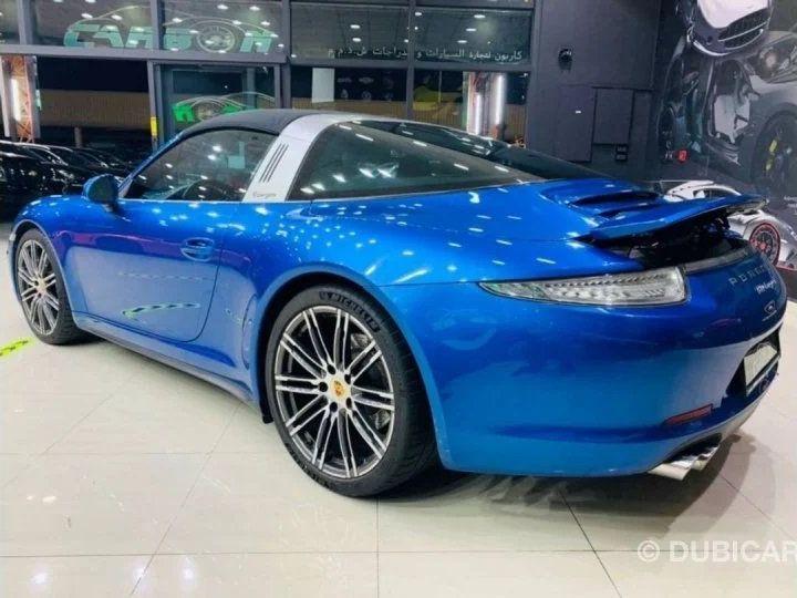 Porsche 911 Targa # 911 CARRERA TARGA 4 # Bleu  - 7