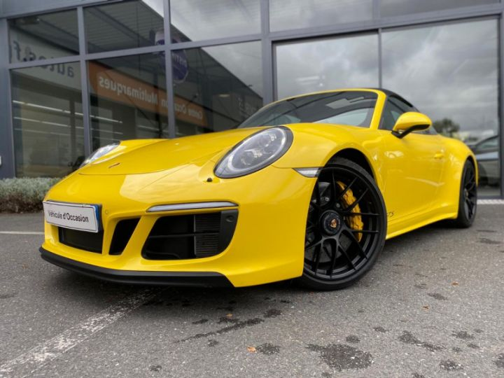 Porsche 911 Targa (991) 3.0 450CH 4 GTS Jaune - 1