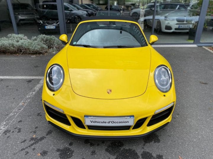 Porsche 911 Targa (991) 3.0 450CH 4 GTS Jaune - 5