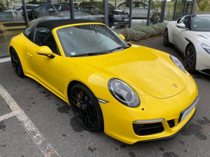 Porsche 911 Targa (991) 3.0 450CH 4 GTS Jaune - 7