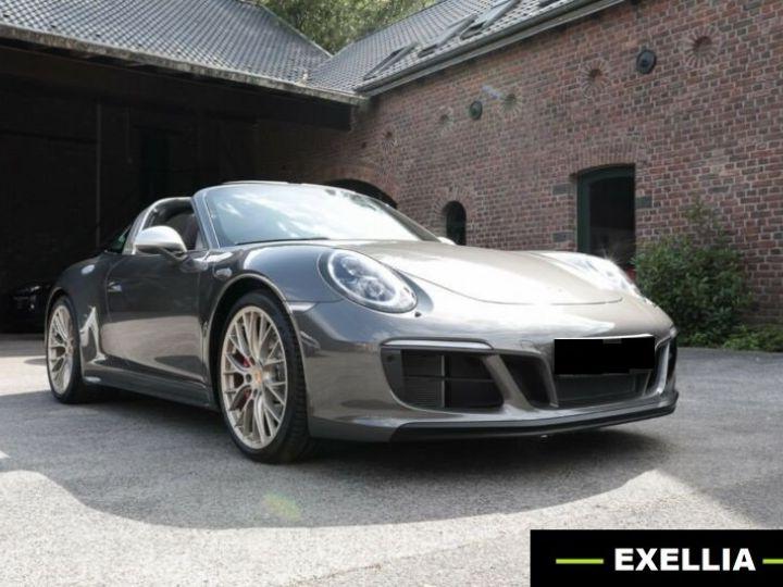 Porsche 911 Targa 991 4 GTS EXLUSIVE MANUFAKTUR EDITION  GRIS ACHAT  Occasion - 1