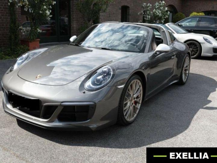 Porsche 911 Targa 991 4 GTS EXLUSIVE MANUFAKTUR EDITION  GRIS ACHAT  Occasion - 2