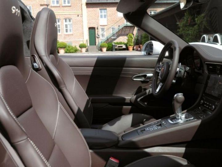 Porsche 911 Targa 991 4 GTS EXLUSIVE MANUFAKTUR EDITION  GRIS ACHAT  Occasion - 7