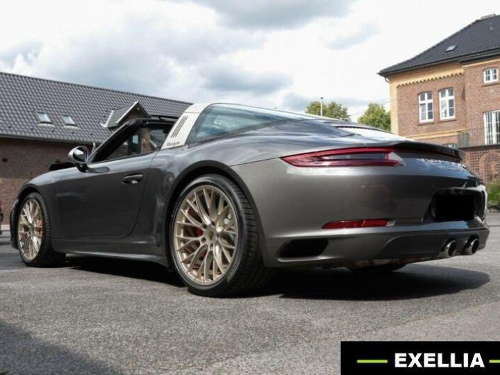 Porsche 911 Targa 991 4 GTS EXLUSIVE MANUFAKTUR EDITION  GRIS ACHAT  Occasion - 13