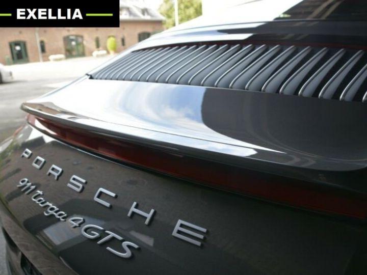 Porsche 911 Targa 991 4 GTS EXLUSIVE MANUFAKTUR EDITION  GRIS ACHAT  Occasion - 16