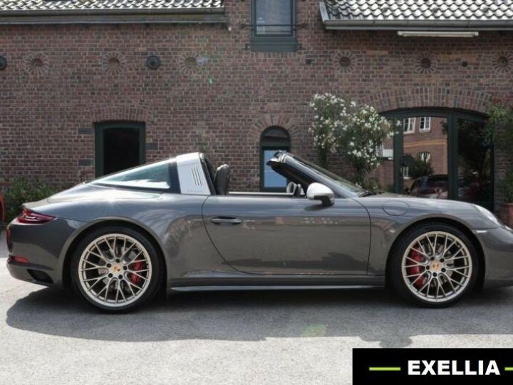 Porsche 911 Targa 991 4 GTS EXLUSIVE MANUFAKTUR EDITION  GRIS ACHAT  Occasion - 17