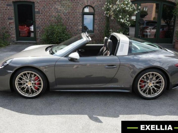 Porsche 911 Targa 991 4 GTS EXLUSIVE MANUFAKTUR EDITION  GRIS ACHAT  Occasion - 18