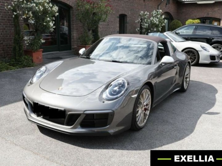 Porsche 911 Targa 991 4 GTS EXLUSIVE MANUFAKTUR EDITION  GRIS ACHAT  Occasion - 20