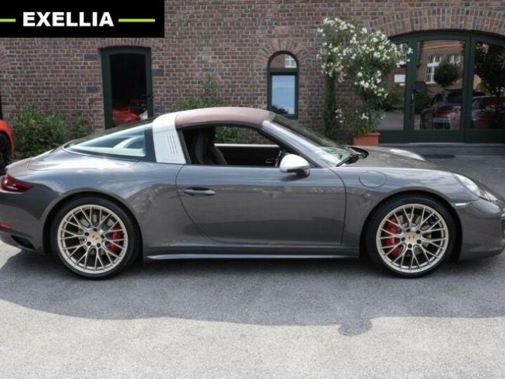 Porsche 911 Targa 991 4 GTS EXLUSIVE MANUFAKTUR EDITION  GRIS ACHAT  Occasion - 21