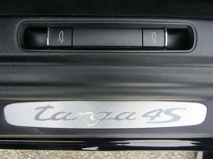 Porsche 911 Targa (991) 4S 3.8L 400CH PDK Noir Occasion - 14