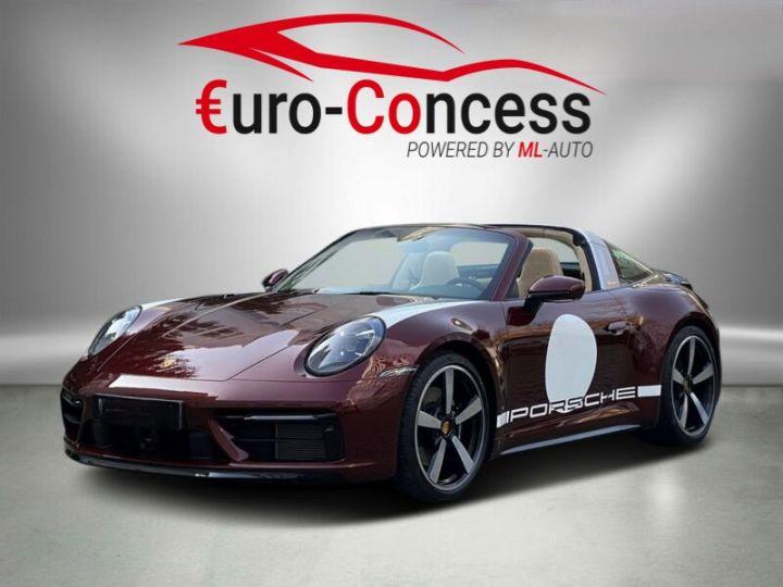 Porsche 911 Targa 992 4S Heritage Design Edition Rouge Cherry - 1