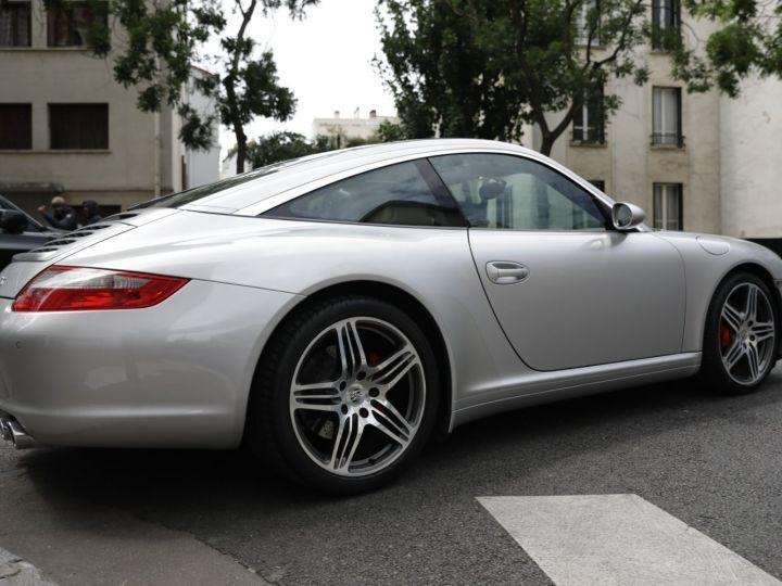 Porsche 911 Targa PORSCHE 997 TARGA 4S 3.8 355CV Gris Gt - 4