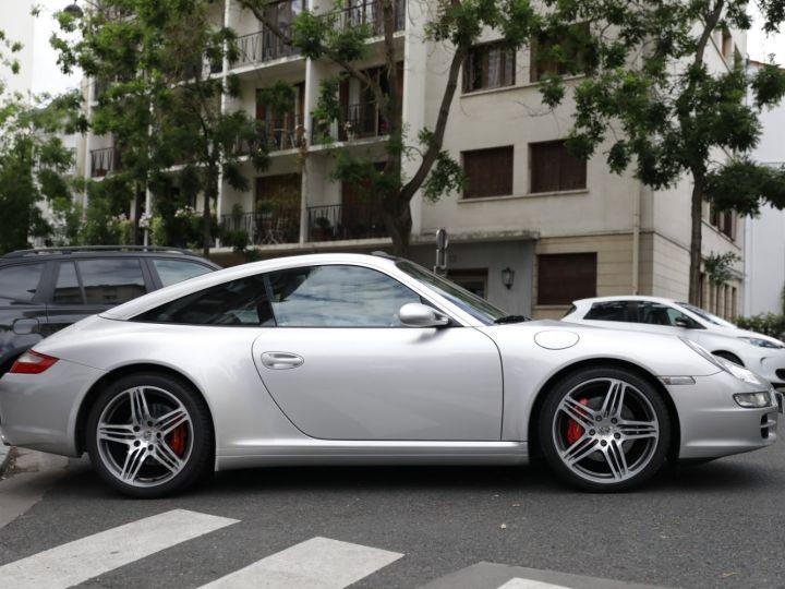 Porsche 911 Targa PORSCHE 997 TARGA 4S 3.8 355CV Gris Gt - 8