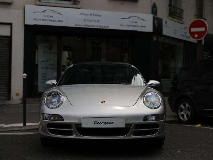 Porsche 911 Targa PORSCHE 997 TARGA 4S 3.8 355CV Gris Gt - 10
