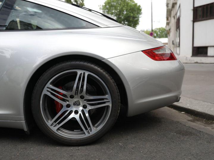 Porsche 911 Targa PORSCHE 997 TARGA 4S 3.8 355CV Gris Gt - 7
