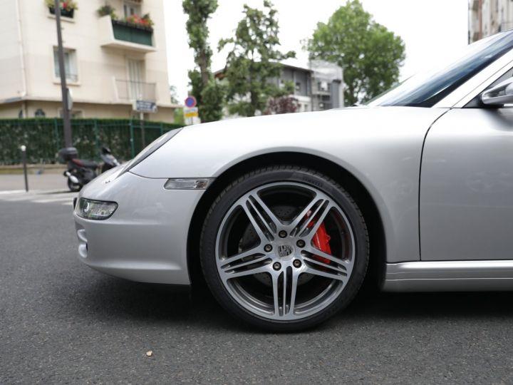 Porsche 911 Targa PORSCHE 997 TARGA 4S 3.8 355CV Gris Gt - 6