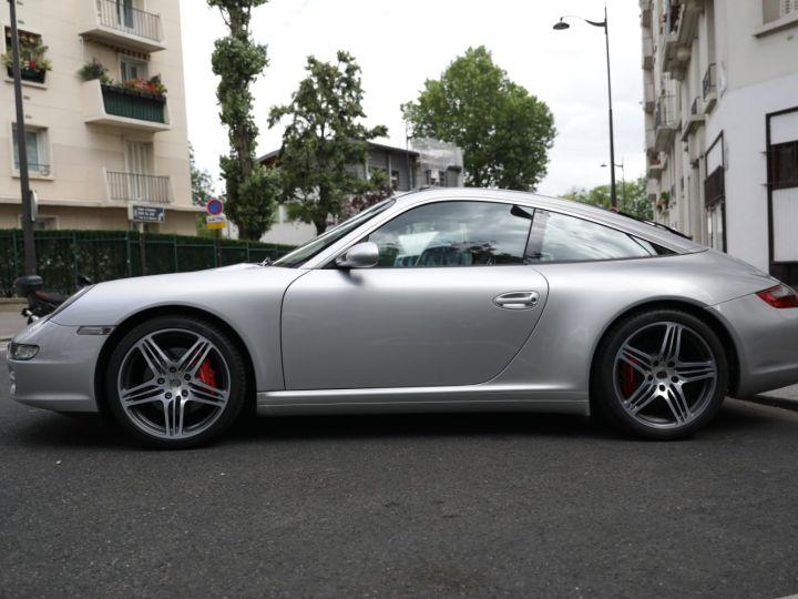 Porsche 911 Targa PORSCHE 997 TARGA 4S 3.8 355CV Gris Gt - 9