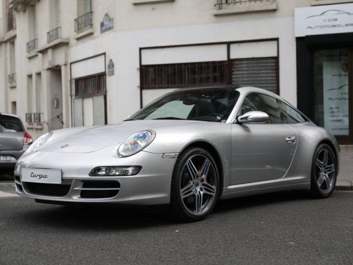 Porsche 911 Targa PORSCHE 997 TARGA 4S 3.8 355CV Gris Gt - 2