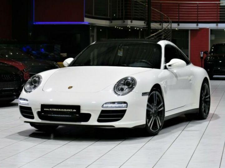 Porsche 911 Targa *SPORTABGAS*BOSE*LEDER*NAVI-PCM* Blanc - 1