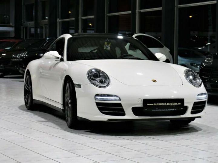 Porsche 911 Targa *SPORTABGAS*BOSE*LEDER*NAVI-PCM* Blanc - 3