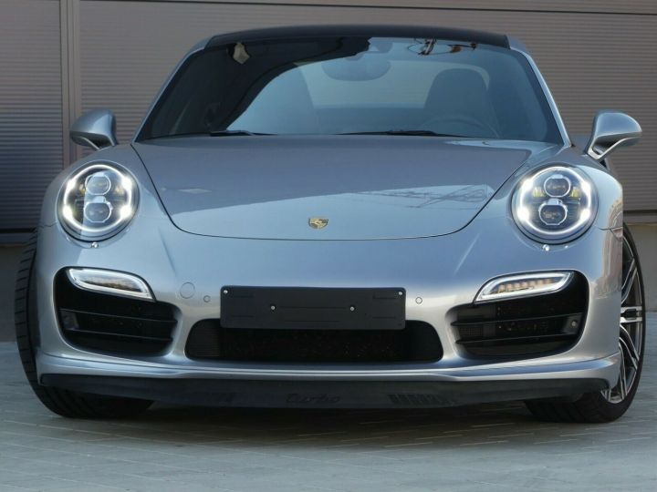 Porsche 911 TURBO 3.8 520CH TOIT PANO PACK SPORT CHRONO PLUS LED 20' Gris - 8