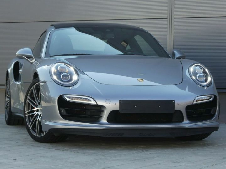 Porsche 911 TURBO 3.8 520CH TOIT PANO PACK SPORT CHRONO PLUS LED 20' Gris - 4