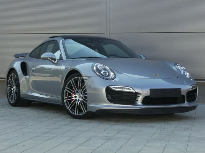 Porsche 911 TURBO 3.8 520CH TOIT PANO PACK SPORT CHRONO PLUS LED 20' Gris - 2