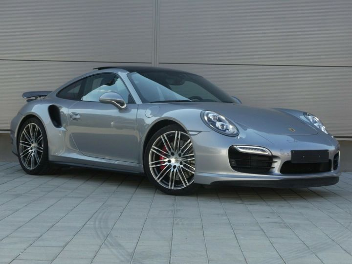 Porsche 911 TURBO 3.8 520CH TOIT PANO PACK SPORT CHRONO PLUS LED 20' Gris - 3