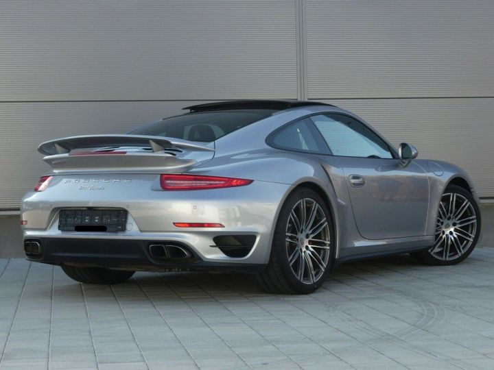 Porsche 911 TURBO 3.8 520CH TOIT PANO PACK SPORT CHRONO PLUS LED 20' Gris - 5