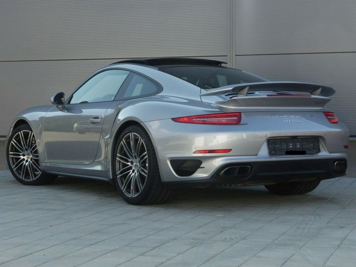 Porsche 911 TURBO 3.8 520CH TOIT PANO PACK SPORT CHRONO PLUS LED 20' Gris - 10