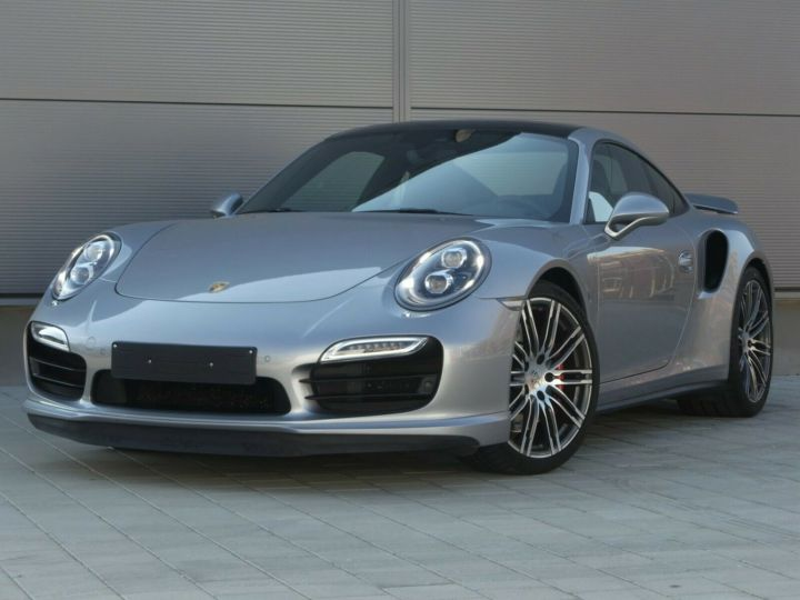 Porsche 911 TURBO 3.8 520CH TOIT PANO PACK SPORT CHRONO PLUS LED 20' Gris - 1