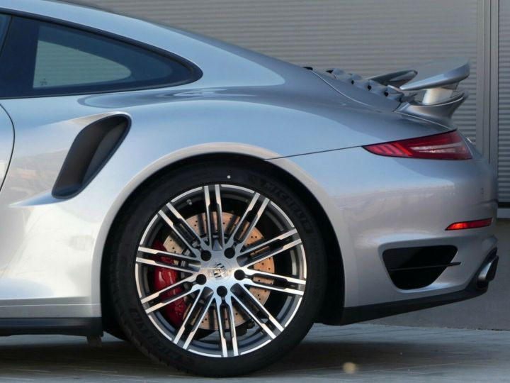 Porsche 911 TURBO 3.8 520CH TOIT PANO PACK SPORT CHRONO PLUS LED 20' Gris - 7