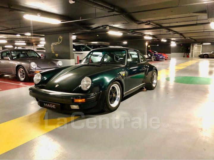 Porsche 911 TYPE 930 TURBO 3.3 300 BV5 Vert Foncé Metal Occasion - 1