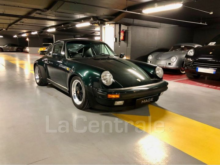 Porsche 911 TYPE 930 TURBO 3.3 300 BV5 Vert Foncé Metal Occasion - 2
