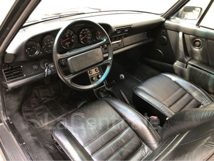 Porsche 911 TYPE 930 TURBO 3.3 300 BV5 Vert Foncé Metal Occasion - 6