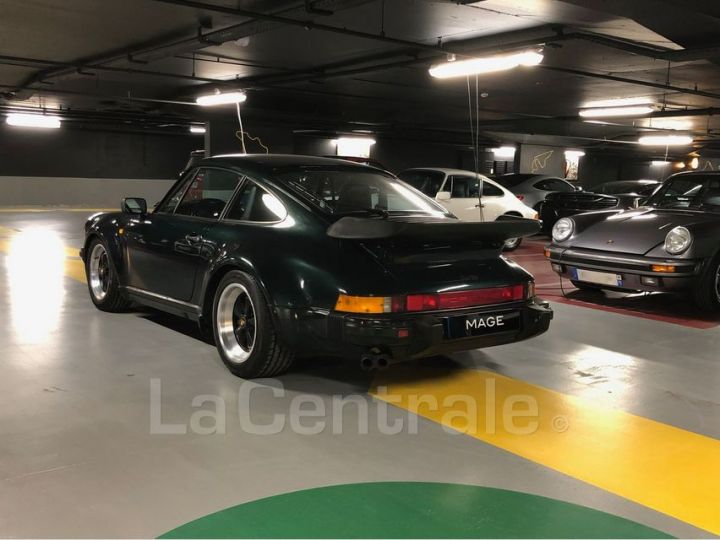 Porsche 911 TYPE 930 TURBO 3.3 300 BV5 Vert Foncé Metal Occasion - 7