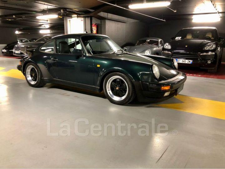 Porsche 911 TYPE 930 TURBO 3.3 300 BV5 Vert Foncé Metal Occasion - 13