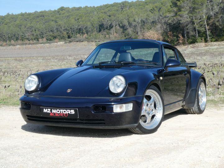 Porsche 911 Type 965 TURBO 3.6 Bleu Nuit Métal Occasion - 1