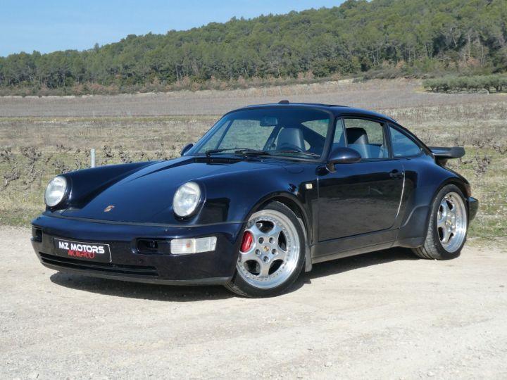 Porsche 911 Type 965 TURBO 3.6 Bleu Nuit Métal Occasion - 2