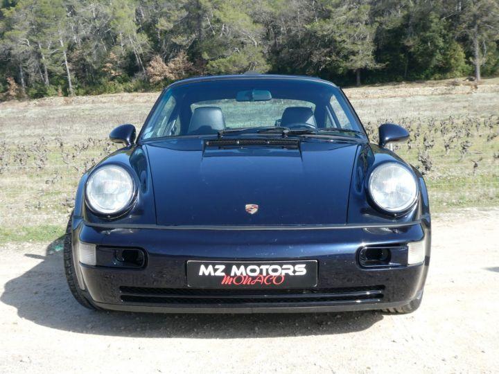 Porsche 911 Type 965 TURBO 3.6 Bleu Nuit Métal Occasion - 5