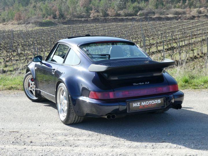 Porsche 911 Type 965 TURBO 3.6 Bleu Nuit Métal Occasion - 13