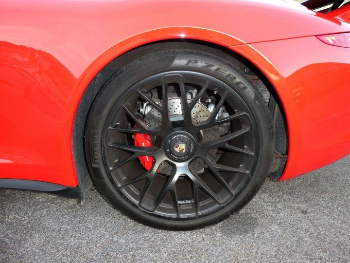 Porsche 911 TYPE 991 3.8 430 CV GTS PDK Rouge Indien Vendu - 14