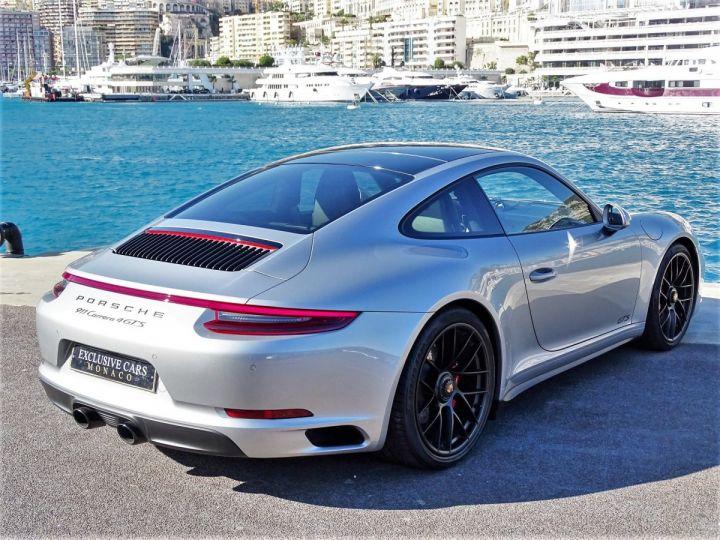 Porsche 911 TYPE 991 CARRERA 4 GTS PDK 450 CV - MONACO Argent Gt Métal - 4