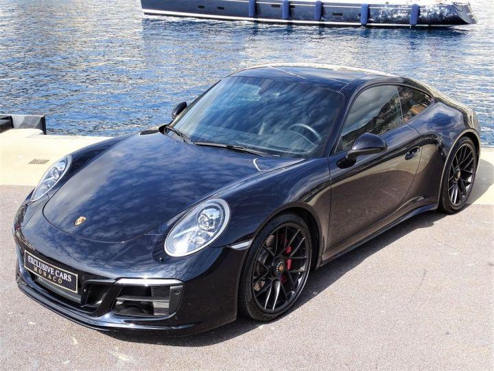Porsche 911 TYPE 991 CARRERA  4 GTS PDK 450 CV - MONACO  Noir Metal - 17