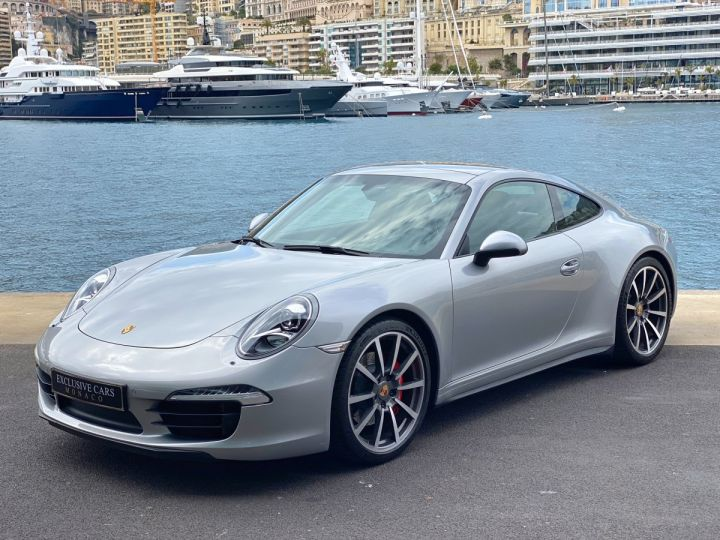 Porsche 911 TYPE 991 CARRERA 4S 400 CV PDK - MONACO Argent GT Métal - 1